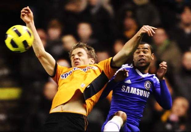 Wolves 1-0 Chelsea: Bosingwa own goal leaves champions nine points adrift in title race in title race