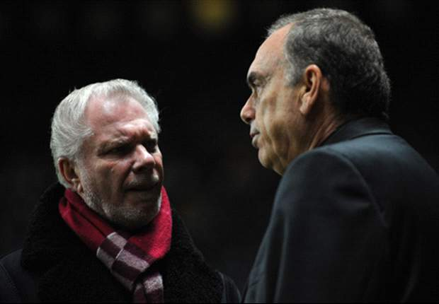 West Ham chairman David Gold glad to be back after 'frustrating' pneumonia bout