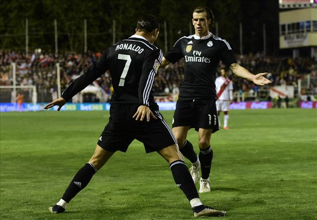 Rayo Vallecano 0-2 Real Madrid: Ronaldo's 300th goal keeps Blancos fighting for title