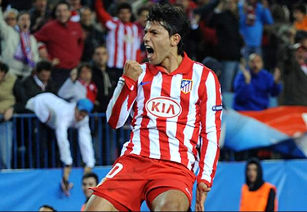 Tottenham target Sergio Aguero signs new contract with Atletico Madrid