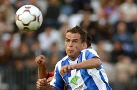 Duda, playing with Malaga (AFP)