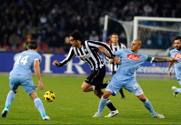 Napoli-Juventus 3-0: Cavani incanta il San Paolo e mette ko la Signora