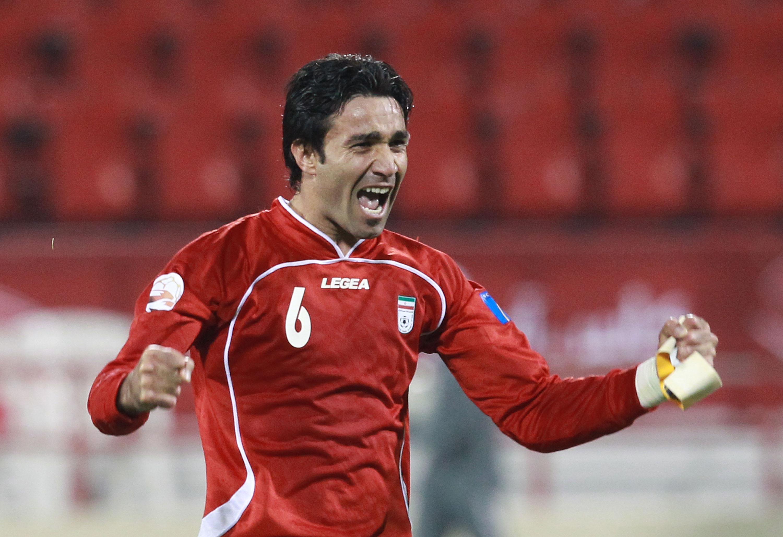 Javad Nekounam, Iran vs Iraq (Getty Images) Javad