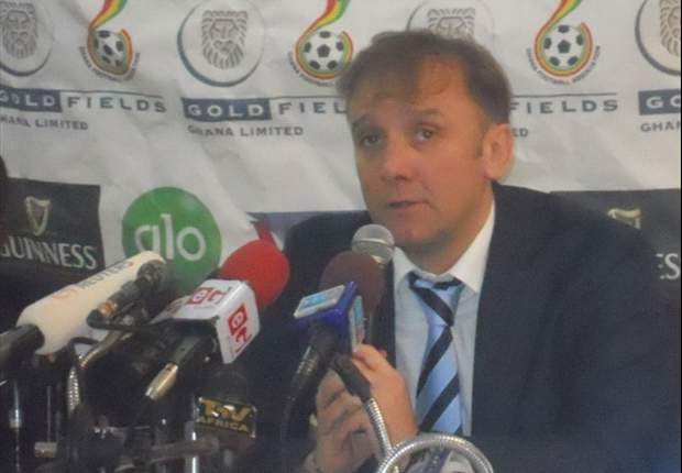 Ghana coach Goran Stevanovic: Ghanaians not satisfied but happy with our style of play