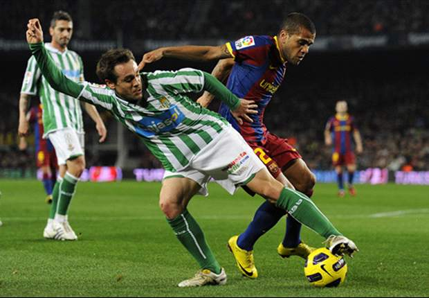 Betis 3-1 Barcelona: Blaugrana Made To Work For Semi-final Place