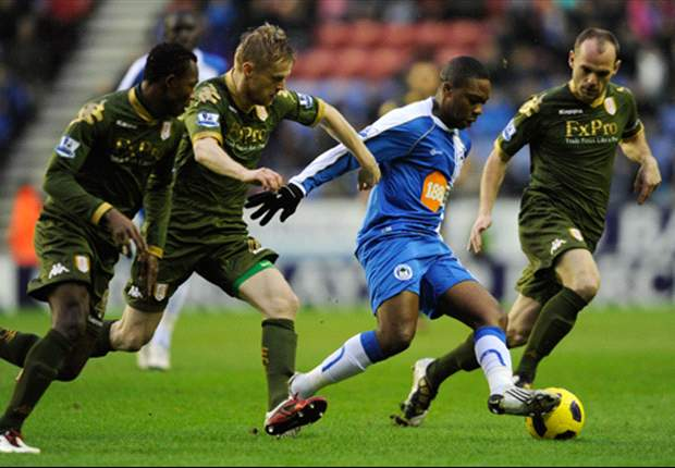 Wigan Athletic 1-1 Fulham: Late equaliser from Andy Johnson denies Latics much needed win