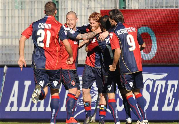 Cagliari 3-1 Palermo: Matri And Biondini Give The Sardinians The Edge In The Islands Derby