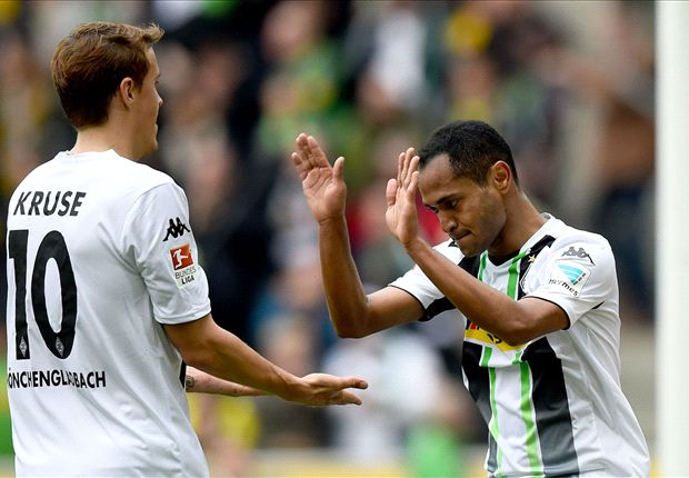Gladbach 3-1 Borussia Dortmund: Klopp's men trampled on by third-place hosts