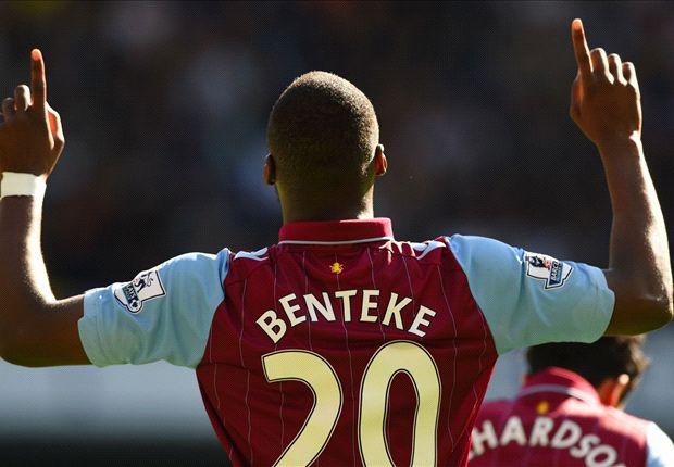 Tottenham 0-1 Aston Villa: Benteke hands Sherwood winning White Hart Lane return