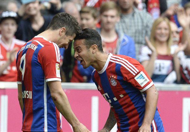 Bayern Munich 3-0 Eintracht Frankfurt: Lewandowski fires injury-hit Bavarians to win
