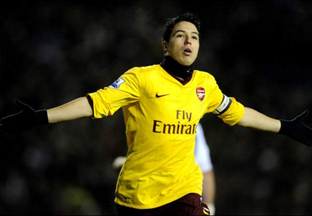 Reported Manchester United target Samir Nasri tells Arsenal fans: 'I will let you know if I'm staying or going'
