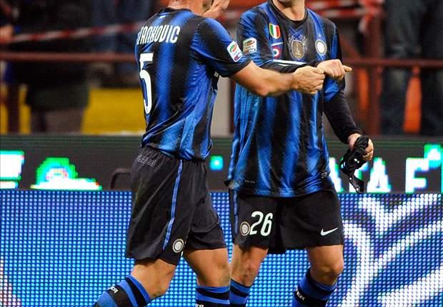 Inter 3-2 Cesena: Five straight wins for Leonardo as Milito, Eto'o & Chivu move hosts up to fourth