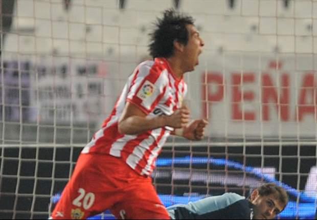 Liga Adelante: Almería 0 - 0 Mirandés