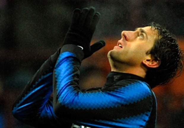 Inter Striker Diego Milito Will Miss Udinese Clash After Suffering Injury Against Cesena