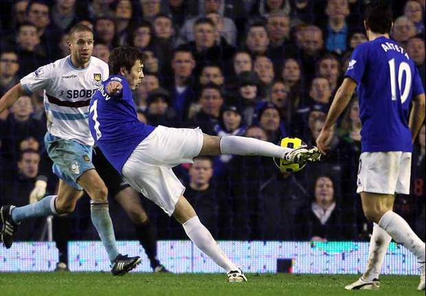 Everton 2-2 West Ham United: Fellaini scores in stoppage time to keep Grant's side rooted to the bottom