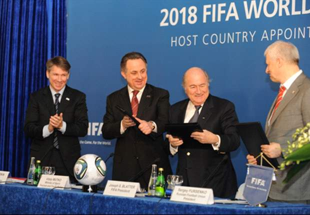 FIFA & Russia Sign World Cup 2018 Declaration Of Appointment