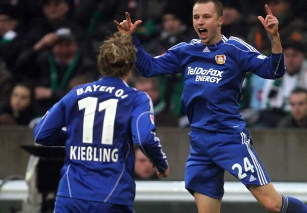 Borussia Moenchengladbach 1-3 Bayer Leverkusen: Castro Inspired Leverkusen Down Moenchengladbach