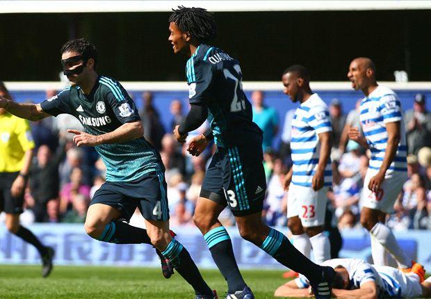QPR 0-1 Chelsea: Fabregas nicks vital late winner