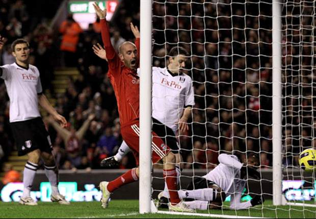Liverpool 1-0 Fulham: Pantsil Own Goal Seals Dalglish's First Anfield Win As Reds Go Seventh In Table