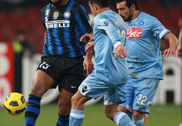 TEAM NEWS: Maicon returns for Inter as Napoli's Goran Pandev faces parent club