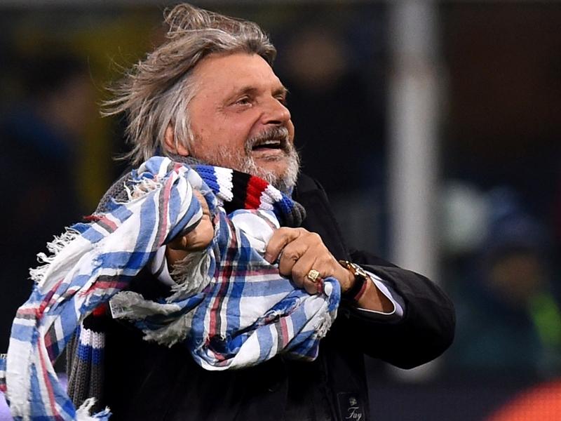 Ferrero, avanti con Giampaolo: Diamogli tempo, ci mancano tre punti...