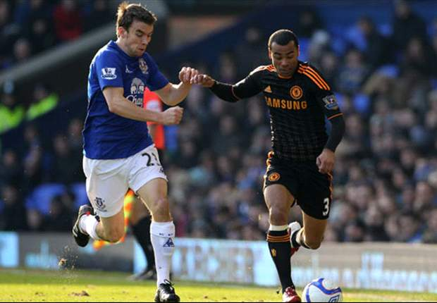 Everton's Seamus Coleman relishing right back role
