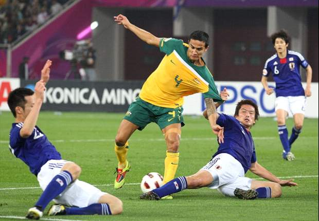 Japan grouped with Australia in AFC 2014 World Cup qualifying draw