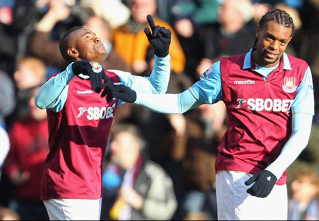 West Ham 3-2 Nottingham Forest: Obinna nets hat-trick on return from suspension as Hammers put League Cup disappointment behind them