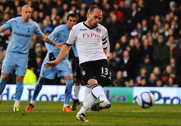 Fulham midfielder Danny Murphy: I never fell out with Martin Jol at Tottenham