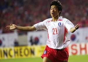 Ketika Park Ji-sung tampil di Piala Dunia 2002.