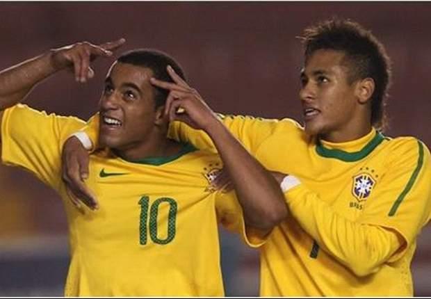 Real Madrid-targets Neymar & Lucas prepare for battle in Paulista semi-final