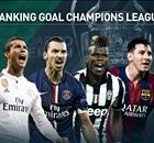 Ranking das quartas de final da Champions League