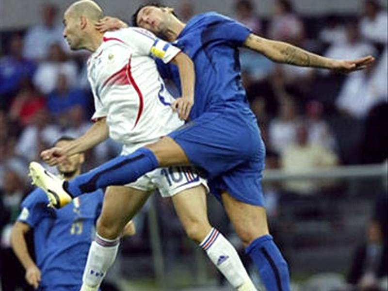 Materazzi Zidane