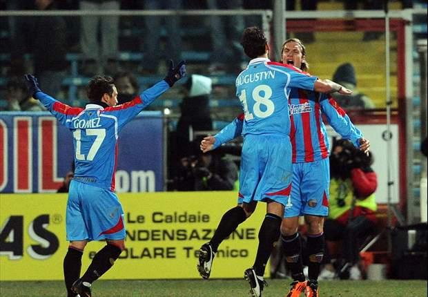 Cesena-Catania 1-1: Simeone e la vittoria, niente da fare! Arriva solo un punticino