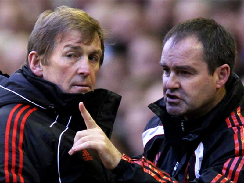 Kenny Dalglish and Steve Clarke (getty images