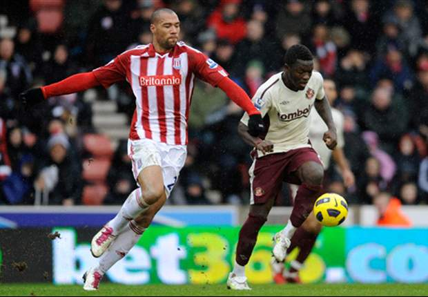 Stoke City 3-2 Sunderland: Robert Huth Atones For Error With Dramatic Late Double As Potters Come From Behind To Win