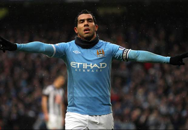 Manchester City 3-0 West Bromwich Albion: Carlos Tevez's First-Half Hat-Trick Sends Sinking Baggies Packing