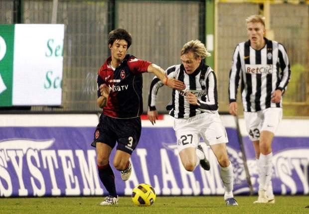 Cagliari-Juventus 1-3: Matri non perdona la sua ex e la bastona due volte. Toni mette poi il sigillo sulla gara