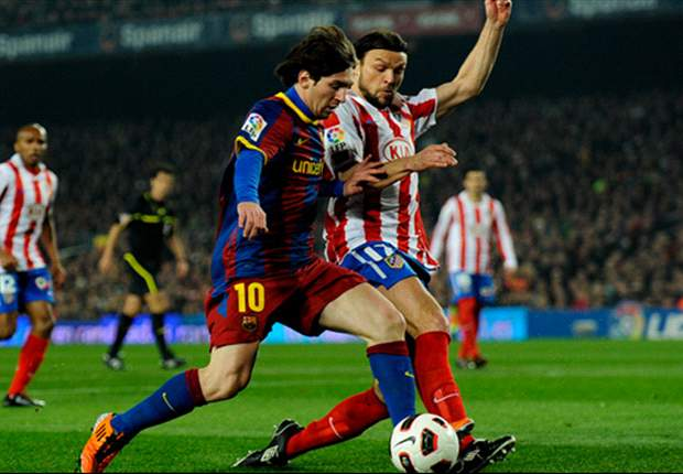 Barcelona 3-0 Atletico Madrid: Messi Treble Eases Barcelona To Record-Breaking Victory