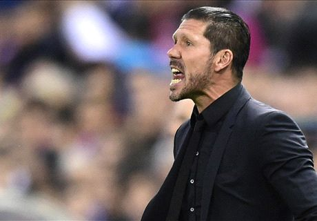 Simeone: No pressure on Atletico