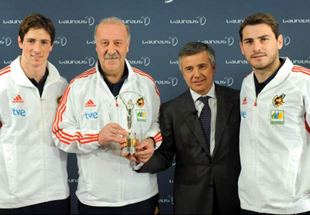 Spain's Vicente Del Bosque Feeling Confident Ahead Of Czech Republic Euro 2012 Qualifier