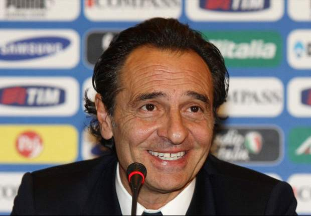 Italy's Cesare Prandelli: Antonio Cassano & Giuseppe Rossi will start against Spain
