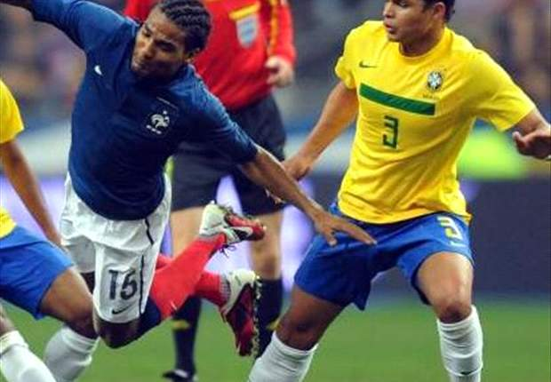 France 1-0 Brazil: Karim Benzema scores second half winner after Hernanes red card for visitors