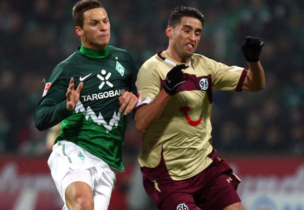 Werder Bremen 1-1 Hannover: Mertesacker Header Cancels Out Ya Konan Opener