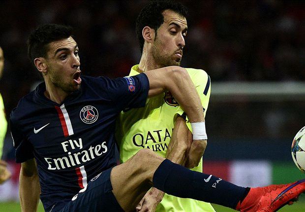 Paris SG-Barça 1-3, le PSG boit la tasse