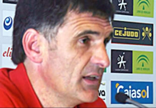 José Luis Mendilibar: Estoy contento con el trabajo, pero no con el resultado