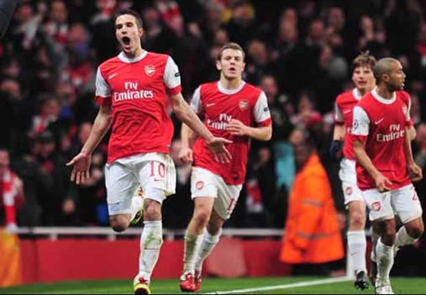 Arsenal 2-1 Barcelona: Van Persie And Arshavin Inspire Stunning Arsenal Comeback