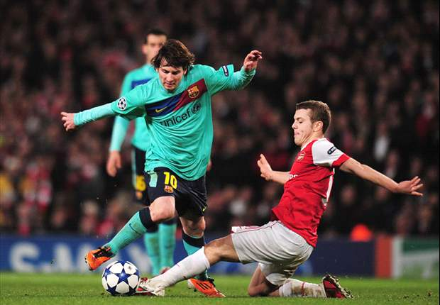 Footballers On Twitter Today: The Referee Was Good - Jack Wilshere After Arsenal's Defeat To Barcelona