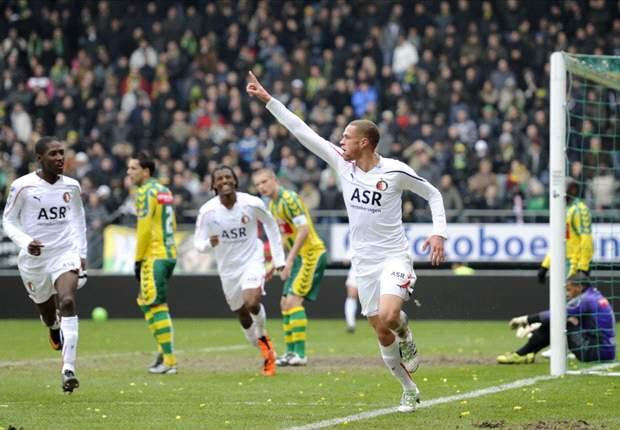 ERE - Feyenoord bij winst op Groningen bijna 'veilig'
