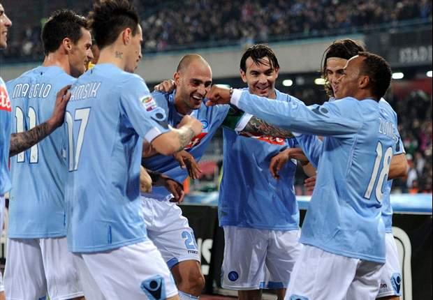 Napoli 1-0 Genoa: Marek Hamsik's late strike gives Walter Mazzarri's side a deserved win